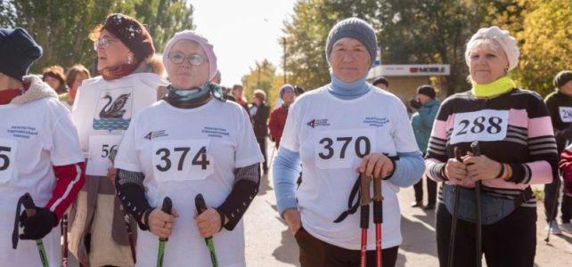 Областной фестиваль по скандинавской ходьбе «Старшее поколение»